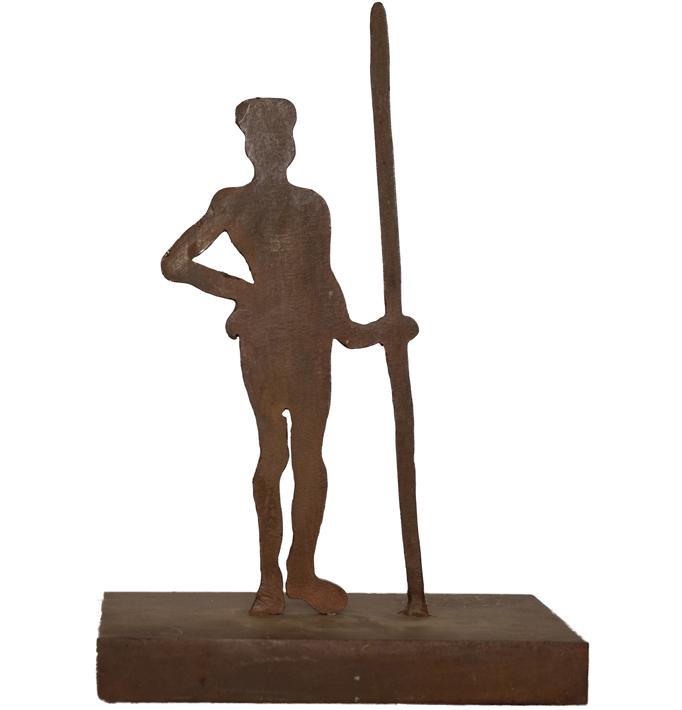 Masai – Hierro 34 X 16 X 11 Cm