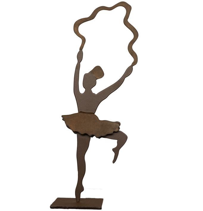 Bailarina 1 – Hierro 13 X 12 X 28 Cm