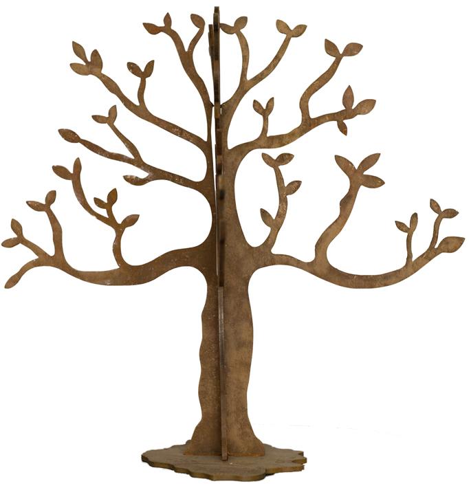 Árbol 3 – Hierro 47 X 35 X 35 Cm