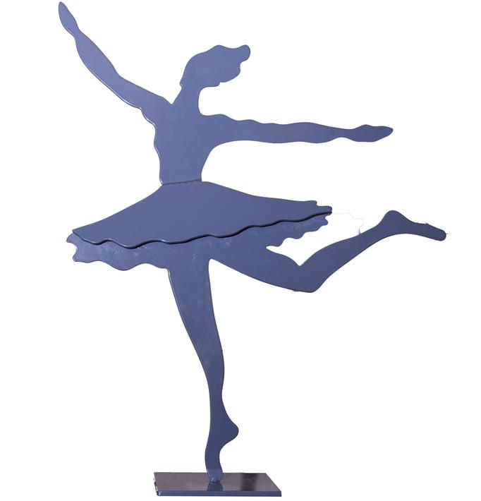 Bailarina 2 – Hierro 11 X 12 X 16 Cm