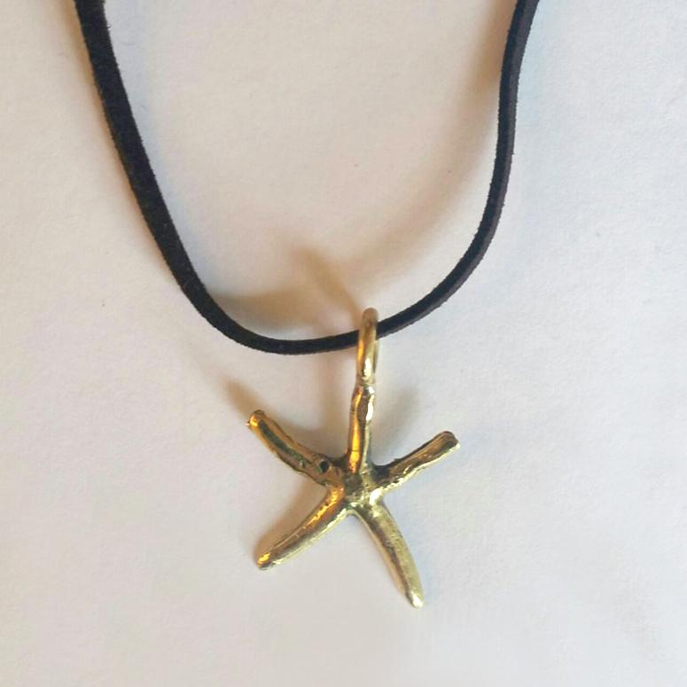 Estrella De Mar Pequeña – Latón