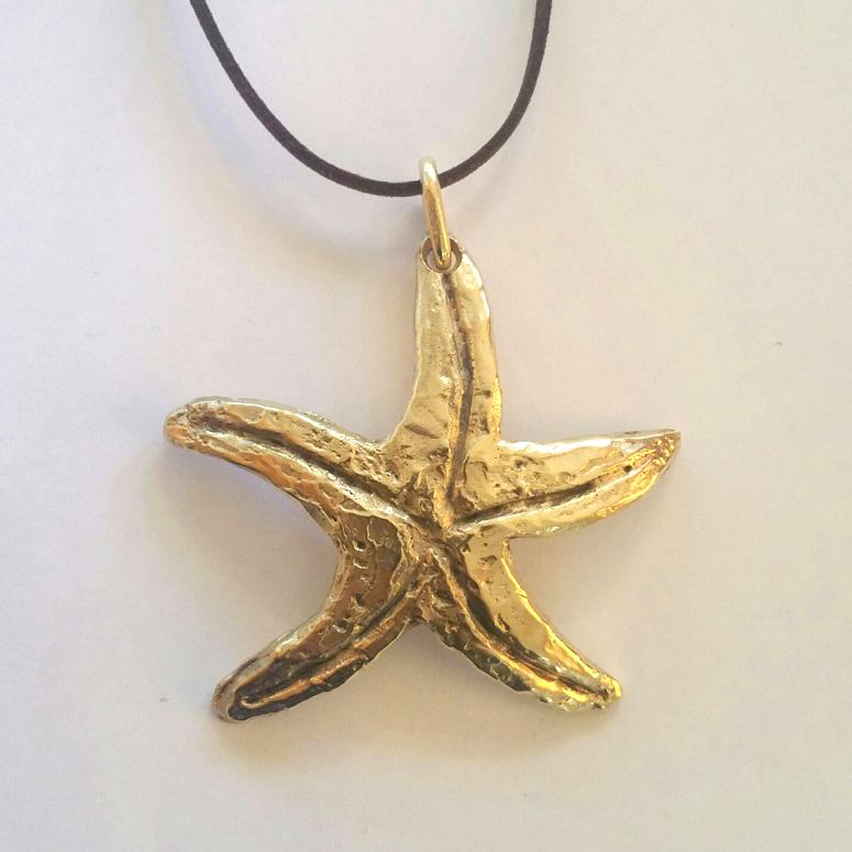 Estrella De Mar Grande – Latón