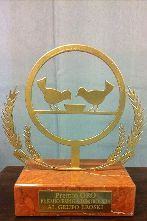 Trofeo Banco De Alimentos