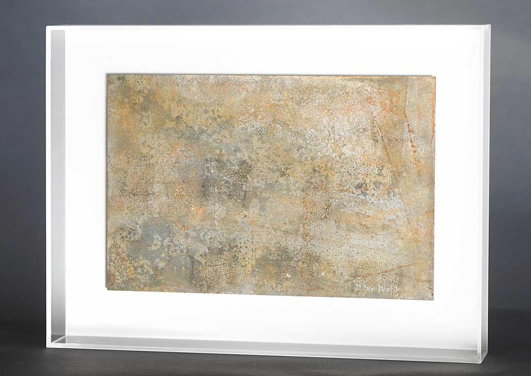 Placas I Metal Y Metacrilato 42 X 31cm