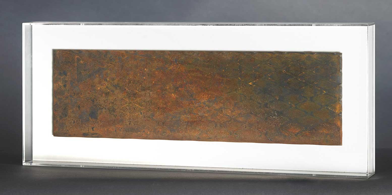 Placas II Metal Y Metacrilato 62 X 25,5cm
