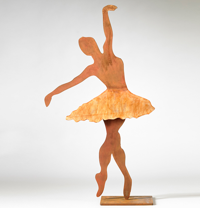 Bailarina II – Hierro Patinado
