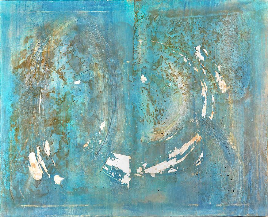 Meditación III – Mixta Sobre Tela – 100 X 81cm